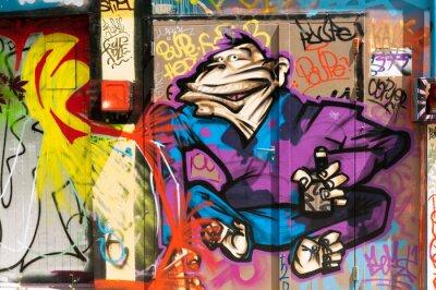 Obraz Personnage Graffiti