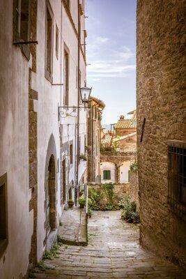 Obraz Piękna ulica Cortona, Toskania