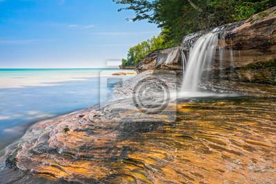 Piękne Elliot Falls