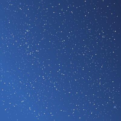 Obraz Piękne gwiaździste niebo w tle