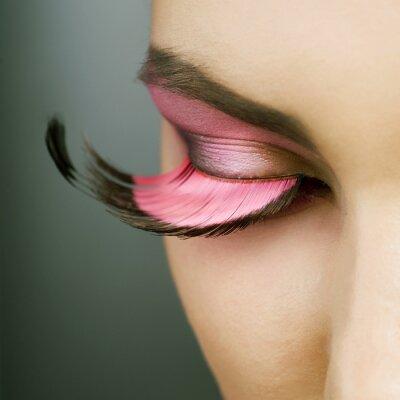 Obraz Piękny makijaż Fashion wakacje
