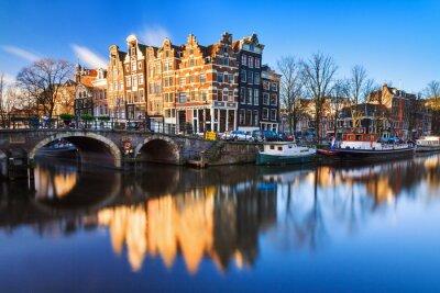 Obraz Piękny obraz Światowego Dziedzictwa UNESCO canals na