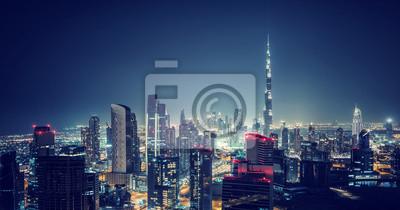 Obraz Piękny pejzaż w Dubaju