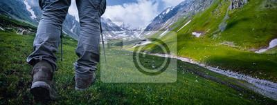 Obraz Piesze wędrówki w górach