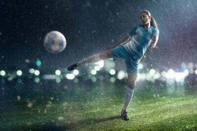 Obraz Piłka nożna Kobieta