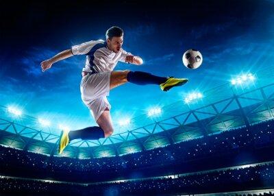 Obraz Piłkarz w akcji