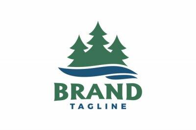 Obraz pine river logo