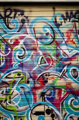 Obraz Plan Arrière Colore grafitti