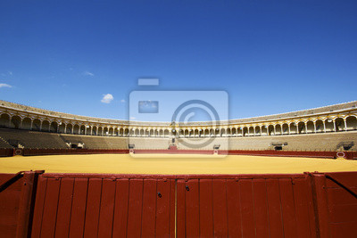Plaza de Toros, arena w Siviglia - Spagna