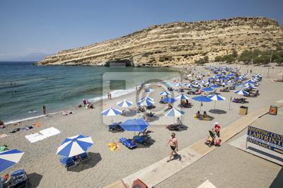 Plaża Matala na Krecie