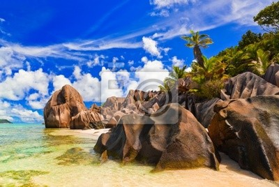 Plaża Source d'Argent na Seszelach