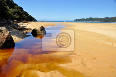 Plaża w Abel Tasman National Park