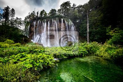 PlitvickaJezera park narodowy Chorwacji