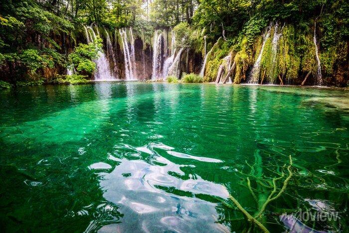 Obraz PlitvickaJezera park narodowy Chorwacji