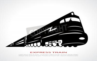 Obraz Pociąg ikona