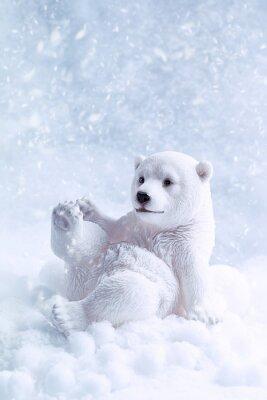 Obraz Polar Bear Rysunek