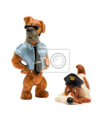 Policja pies zabawki