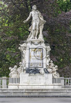 Pomnik Mozarta w Wiedniu