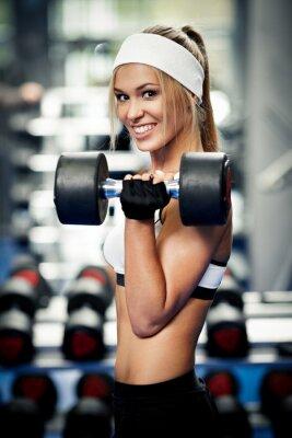 Obraz Pompowanie biceps