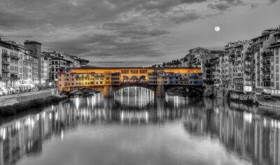 Obraz Ponte Vecchio, Florencja, Firenze, Italia