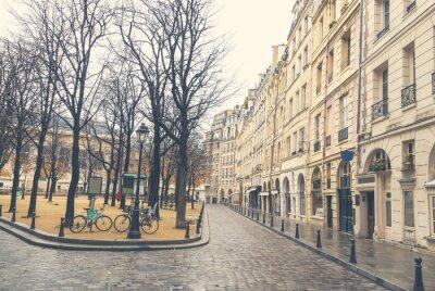 Obraz Ponury dzień w Paryżu