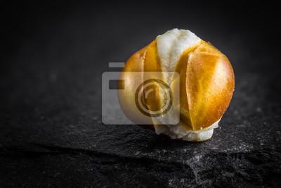 Popcorn Makro auf Stein