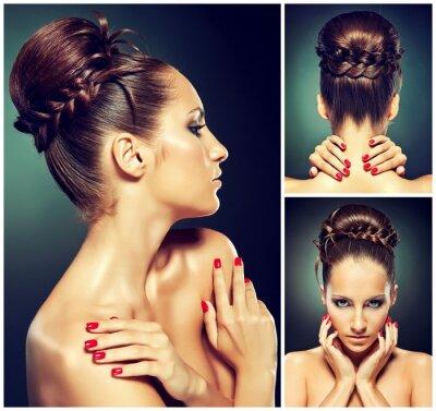 Obraz Portret Fashion Girl