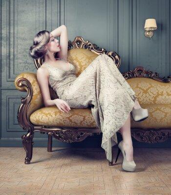 Obraz Portret pięknej kobiety