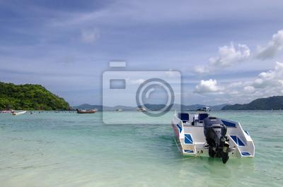 prędkość łodzi w plaży