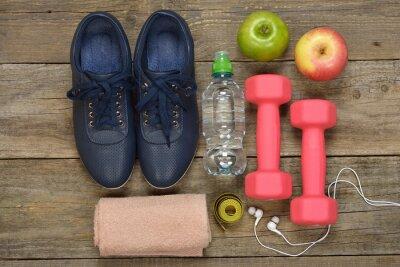 Obraz Produkty przeznaczone do sportu