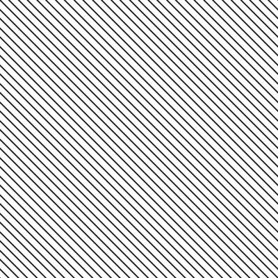Obraz Przekątna paskiem szwu. Geometryczne klasyczny czarno-biały cienka linia tła.