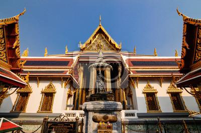 Pustelnik w Wat Phra Kaew
