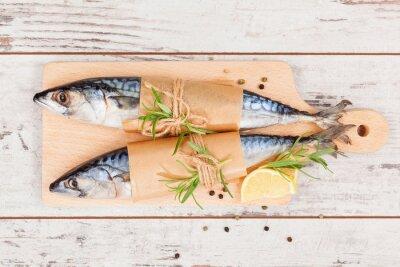 Obraz Pyszne świeże ryby.