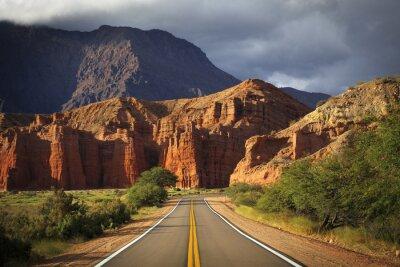Obraz Quebrada de Cafayate, Salta, Argentyna