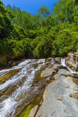 Rang-Reng Waterfall on Bali island Indonesia