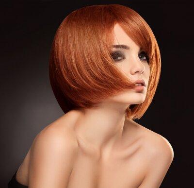 Obraz Red Hair. Obraz o wysokiej jakości.