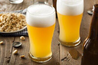 Obraz Resfreshing Złoty piwa lager