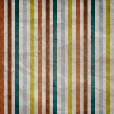 Obraz Retro rozłożonego deseń - tło z kolorowym brązowy, niebieski, szary