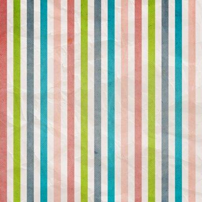 Obraz Retro rozłożonego deseń - tło z kolorowym różowy, błękitny, szary,
