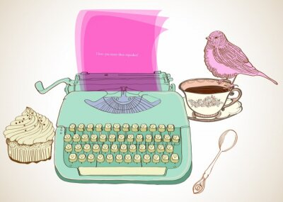 Obraz retro tło do pisania