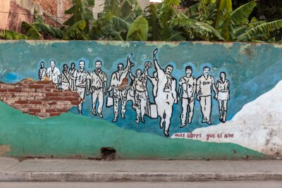 Obraz Rewolucja, Kuba