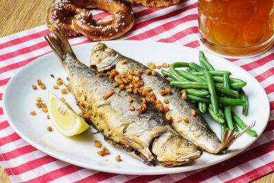 Obraz roasted mackerel