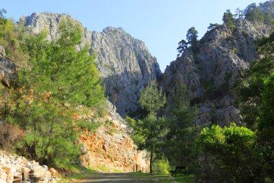 Rocks in Goynuk Canyon