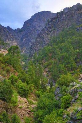 rocks in Goynuk Canyon, Turkey