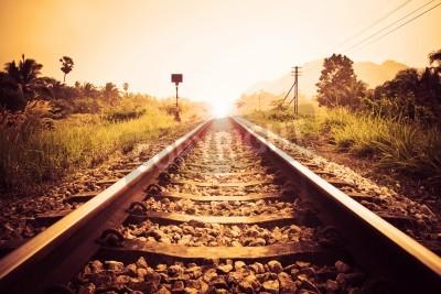 Obraz rocznik kolejowe