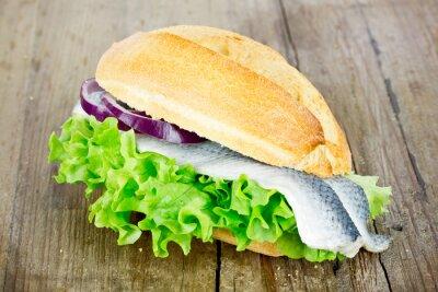 Obraz Rolki ryb