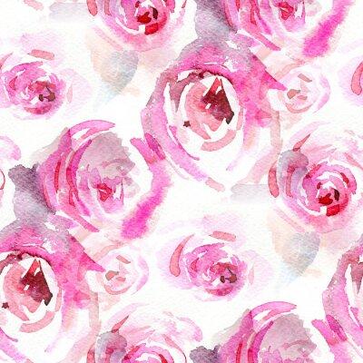 Obraz Róże akwarela