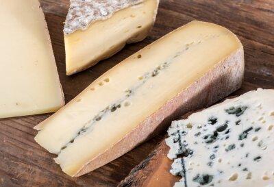 Obraz Różne odmiany francuskich serów