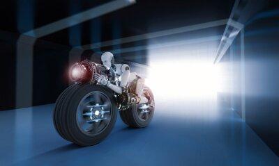 Obraz ruch szybkości robota