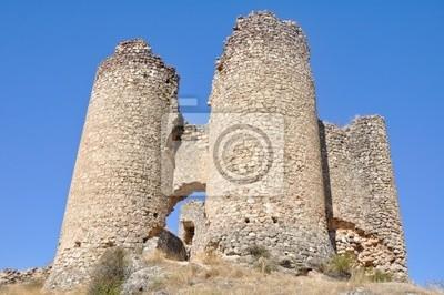 Ruinas del Castillo de Pelegrina, Guadalajara (España)